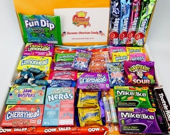 American Sweets Hamper - USA Candy Gift Hamper - QC78