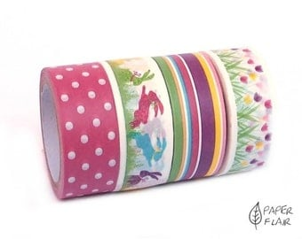 4 rolls of washi tape Easter (KP-3)