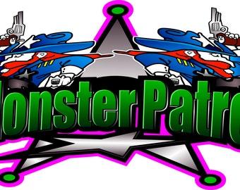 Monster Patrol Decal - Sticker