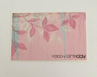 Handmade Card - Happy Birthday (HB07)