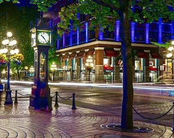 Steam Clock - Gastown - Vancouver, BC