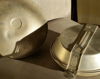 Vintage Girl Scout Mess Kit, Canteen and Mess Kit