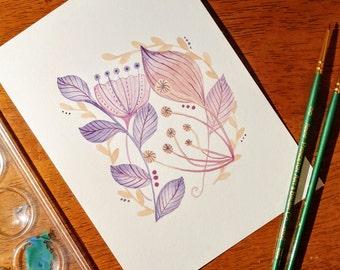 Passionately Purple *Original Artwork*
