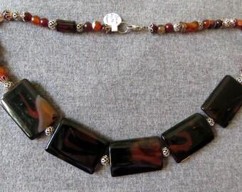 Stunning Dream Agate Necklace/Choker