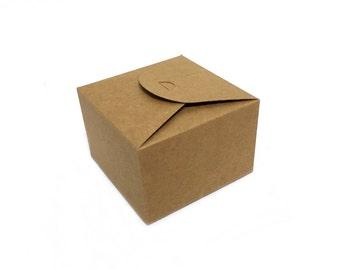Kraft Box - Scallop
