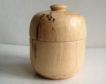 Spalted Beech Keepsake/Trinket Box E82
