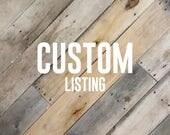"Custom Listing 12"" Tall ""Rosalee"" Name Sign"