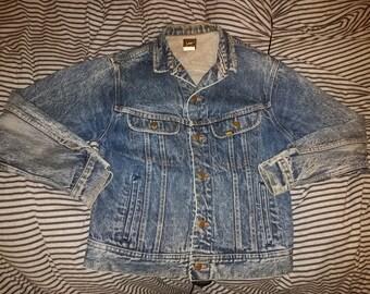 Vintage Lee Demin Jean Jacket USA