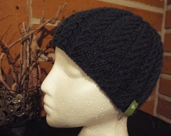 Havy Twisted Stitch Knitted Hat