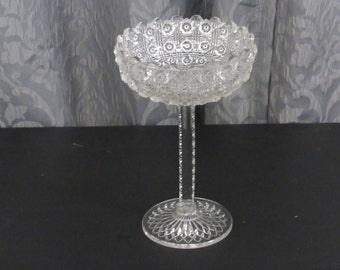 Pressed Glass Vail