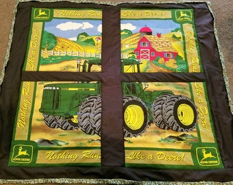 John Deere Tractor quilt