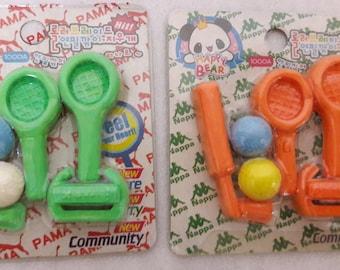 Golf Eraser Set/Rubber/ Party Favour / School / Kids/Novelty Stationery Gift