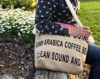 Coffee Sack Market Bag