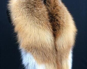 Natural Fox Fur Collar