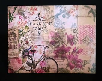 Assorted Cards, Set Of Cards, Blank Greeting Cards, Blank Cards, Vintage Look Thank You Cards, Greeting Card Set