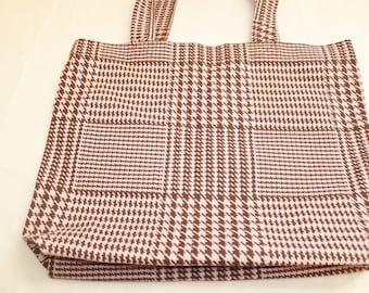 Grocery bag, tote, market bag, beach bag, cotton bag.
