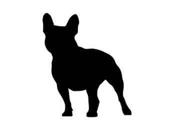 French Bulldog Decal (small)