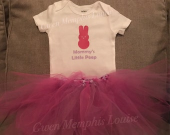 Sweet Spring Onesie and Tiny TuTu Set