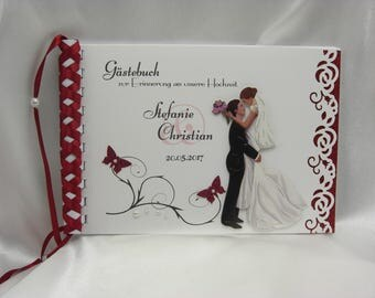 Guestbook for wedding No. G004