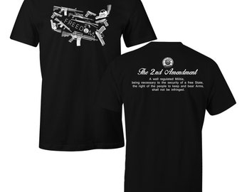 Freedom to Bare Arms Shirt Freedom 2nd USA Amendment Men's T-Shirt