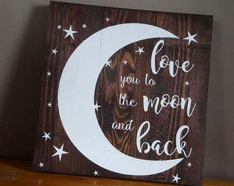 Love Quote Wooden Sign