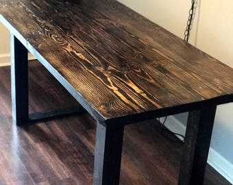 Dining Room Table // Kitchen // Rustic // Farmhouse // Custom