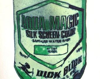 Aqua Magic Viscosity Print
