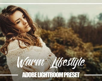 Adobe Lightroom Warm Lifestyle Premium Preset for Lightroom 4,5,6 and CC