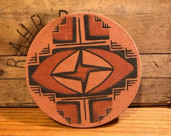 Navajo Sand Art Disc/Plate