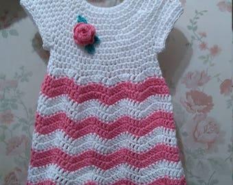 Crochet dress girl