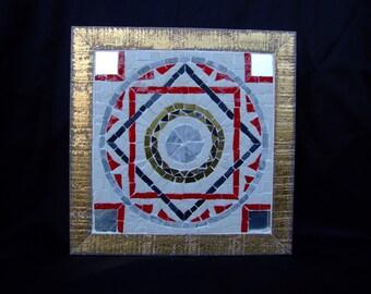 """Mosaic Ostia Antica """"Petals"""""""