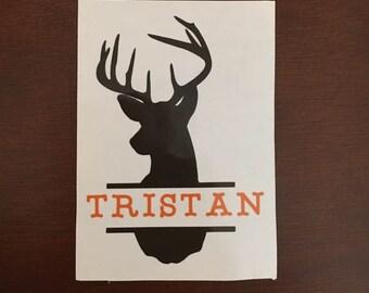 Yeti Tumbler Deer Split with Name