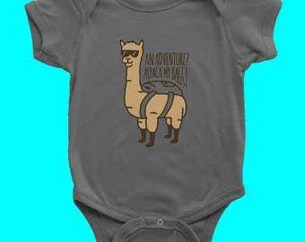 Alpaca My Bags Baby Onesie