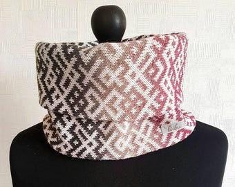 Infinity scarf, multicolor scarf, infinity scarves, merino wool scarf, circle scarf, rainbow scarf, wool scarves, scandinavian scarf