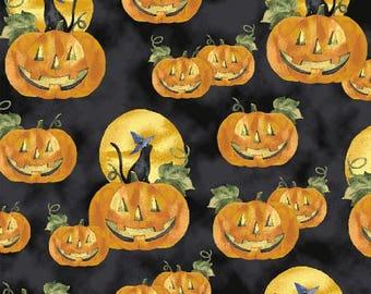 Windham Fabrics Fright Night Whistler Studios 33658              -- 1/2 yard increments