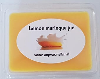 Lemon meringue pie clamshell melts