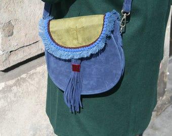 Bag faux leather ethnic vegan