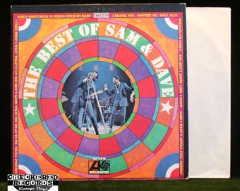 Sam and Dave The Best Of Sam And Dave VG  Vintage Vinyl LP Record Album