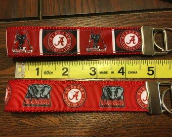 Alabama NCAA Key Fob/Chain/Wristlet