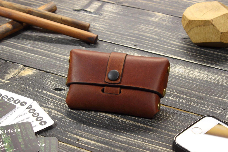 Best Friend Gift Ideas Leather Card Holder Case Dad Birthday