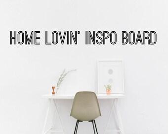 Home Lovin' Mood Board
