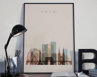 Bordeaux Art Bordeaux Watercolor Bordeaux Wall Art Bordeaux Multicolor Bordeaux Print Bordeaux Wall Decor Bordeaux Poster Bordeaux Photo