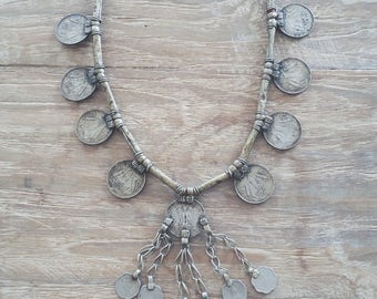 Indian Rupee necklace