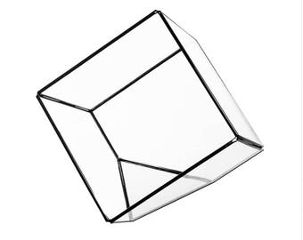 Geometric Cube Terrarium