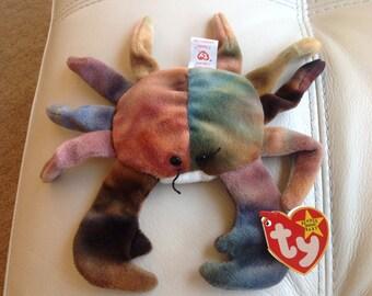 Original Claude the Crab Beanie Baby