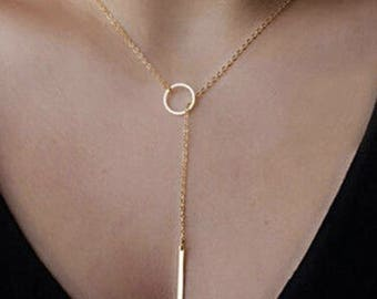 Long Loop Necklace
