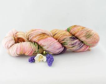 Spring Garden- Hand dyed yarn
