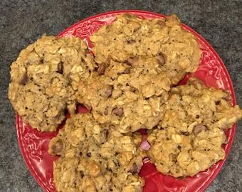 Lactation Cookies-Pure ingredients-One Dozen