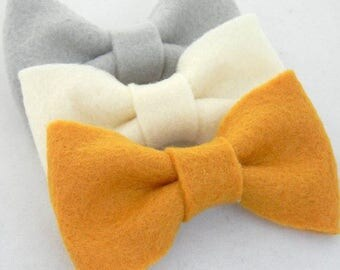 Felt bows; Little Girls