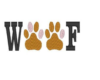 woof Embroidery file digital embroidery file